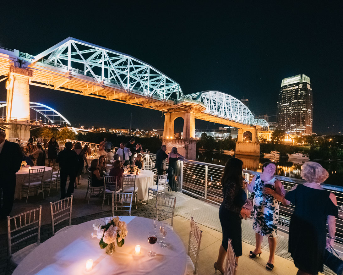 Wedding Reception at The Bridge Building Event Spaces