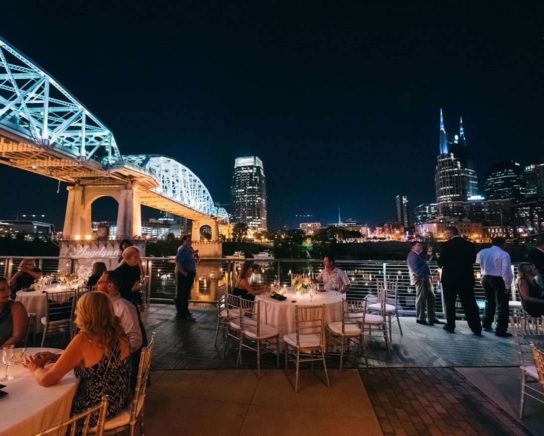 The bridge building event spaces wedding reception at the bridge building event spaces junglespirit Choice Image