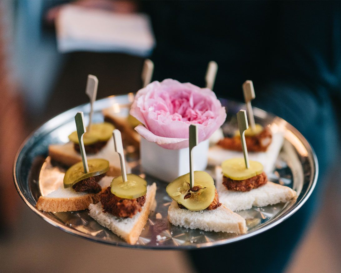 Infinity Events & Catering Passed Hors D'Oeuvres