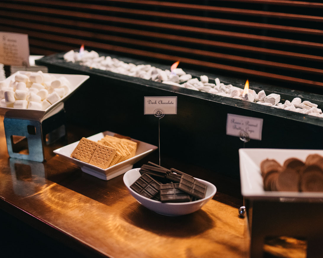 S'mores Bar Dessert Station Infinity Events & Catering